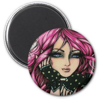 """""""Genevieve"""" Steampunk Fairy Magnet"""