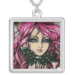 Genevieve Steampunk Pink Fantasy Fairy Art Hannah Jewelry