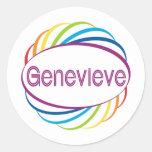 Genevieve Sticker