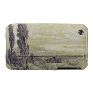 Genezzano, 17 May 1838 (graphite on paper) Case-Mate iPhone 3 Case