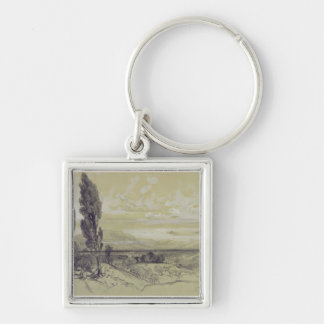 Genezzano, 17 May 1838 (graphite on paper) Keychain