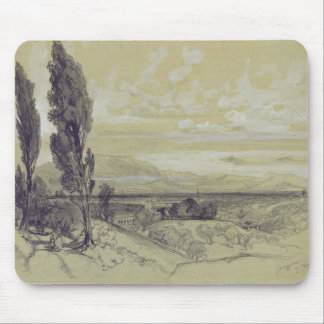 Genezzano, 17 May 1838 (graphite on paper) Mouse Pad