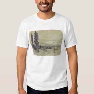 Genezzano, 17 May 1838 (graphite on paper) T-Shirt