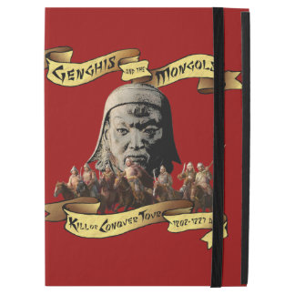 "Genghis and the Mongols: Kill or Conquer Tour iPad Pro 12.9"" Case"