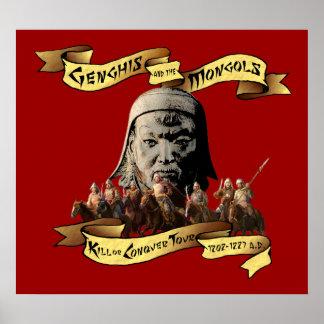 Genghis Khan Posters   Zazzle