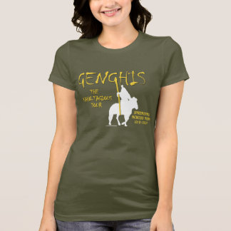 Genghis 'Kahn-tagious' Tour (Women's Dark) T-Shirt