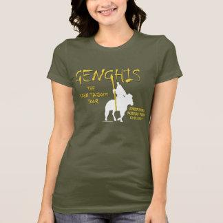 Genghis 'Kahn-tagious' Tour (Women's Dark) T-Shirt