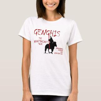Genghis 'Kahn-tagious' Tour (Women's Light) T-Shirt