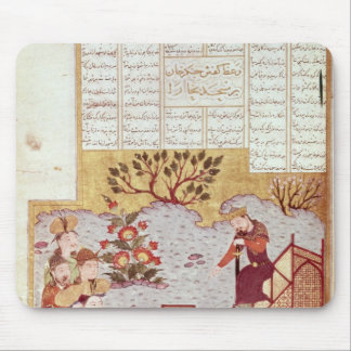 Genghis Khan addressing a congregation Mouse Pad