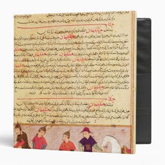 Genghis Khan and his sons by Rashid al-Din Binder