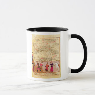 Genghis Khan and his sons by Rashid al-Din Mug