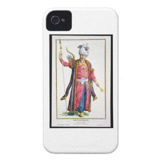 Genghis Khan (c.1162-1227) de 'DES Estam de Receui iPhone 4 Cárcasa