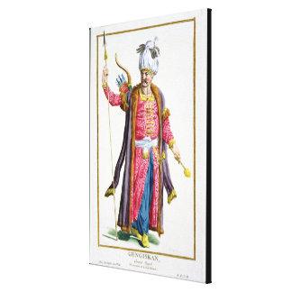 Genghis Khan (c.1162-1227) de 'DES Estam de Receui Lona Estirada Galerías