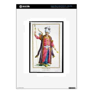 Genghis Khan (c.1162-1227) de 'DES Estam de Receui iPad 3 Skin