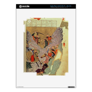 Genghis Khan (c.1162-1227) fighting the Chinese in iPad 3 Skin