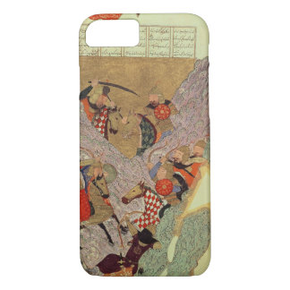 Genghis Khan (c.1162-1227) fighting the Chinese in iPhone 8/7 Case