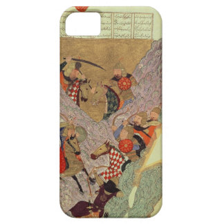 Genghis Khan (c.1162-1227) fighting the Chinese in iPhone SE/5/5s Case