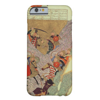 Genghis Khan (c.1162-1227) que lucha a los chinos Funda De iPhone 6 Barely There