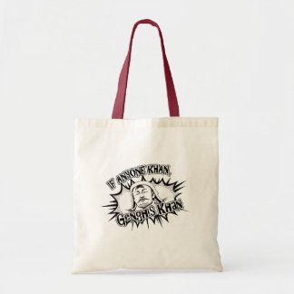 Genghis Khan Can! Tote Bag