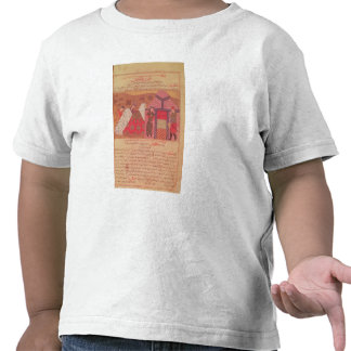 Genghis Khan fuera de su tienda Camiseta