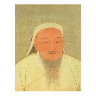 Genghis Khan Postcard