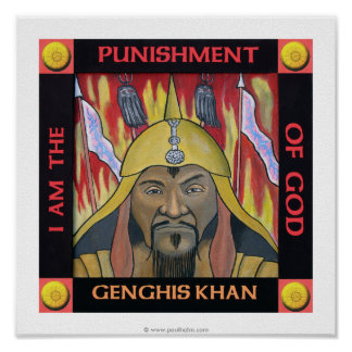 Genghis Khan Posters | Zazzle