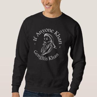 Genghis Khan Pull Over Sweatshirt