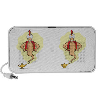 Genie Appear from Magic Lamp Mp3 Speakers
