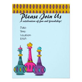 Genie Bottles 2010 Custom Invitations