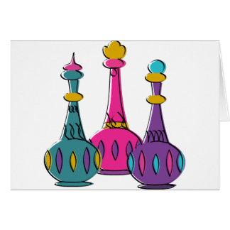 Genie Bottles 2010 Greeting Card