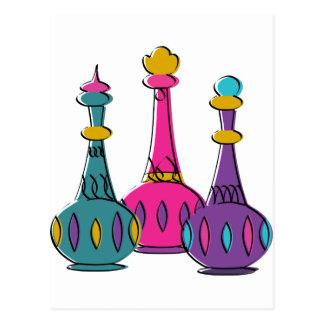 Genie Bottles 2010 Postcards