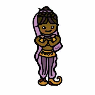 genie captured. statuette