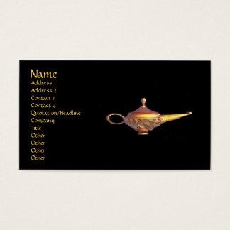 Genie Lamp Business Card