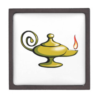Genie Lamp Keepsake Box