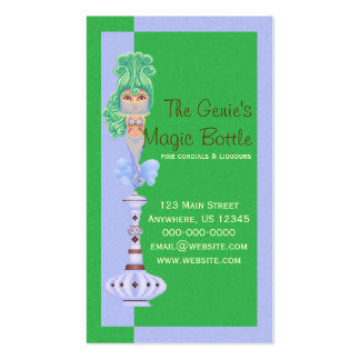 Genie On a Bottle Business Card