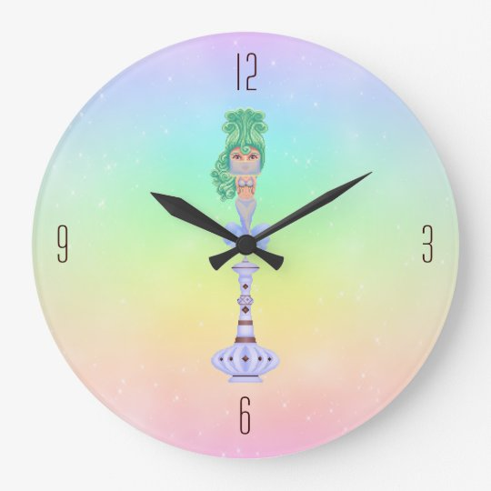 Genie On a Bottle Large Clock