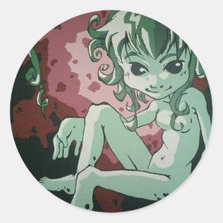Genie Transfer Classic Round Sticker