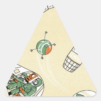 Genimi Space Program Triangle Sticker