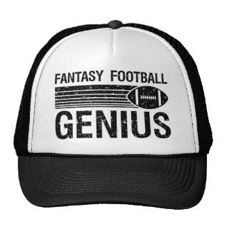 Genio 1 del fútbol de la fantasía gorra