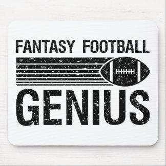 Genio 1 del fútbol de la fantasía tapetes de ratones