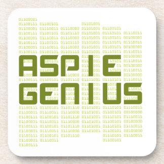 Genio de Aspie - ordenadores Posavasos De Bebida
