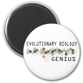 Genio de la biología evolutiva iman de nevera
