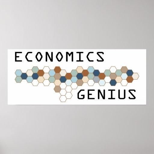 Genio de la economía posters