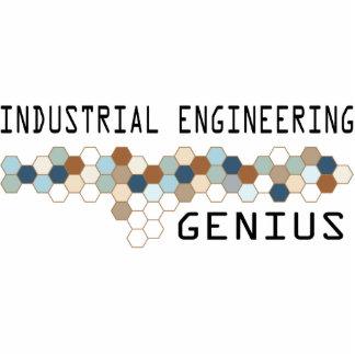 Genio de la ingeniería industrial esculturas fotográficas