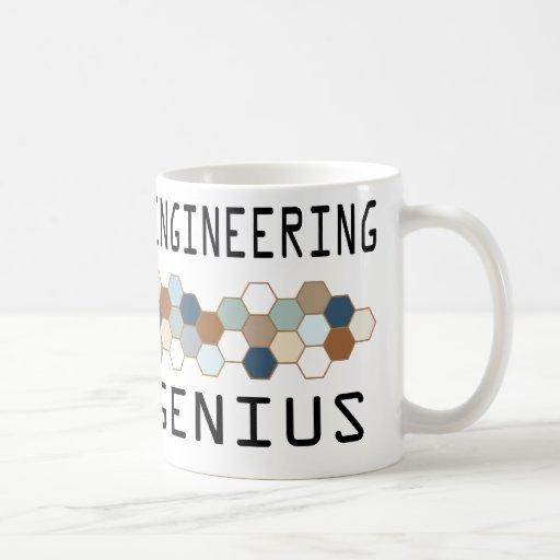 Genio de la ingeniería industrial taza