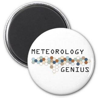 Genio de la meteorología imán redondo 5 cm