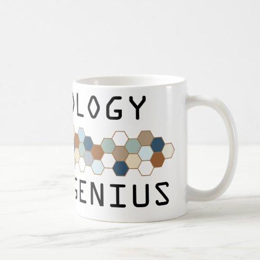 Genio de la meteorología taza de café