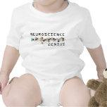 Genio de la neurología traje de bebé