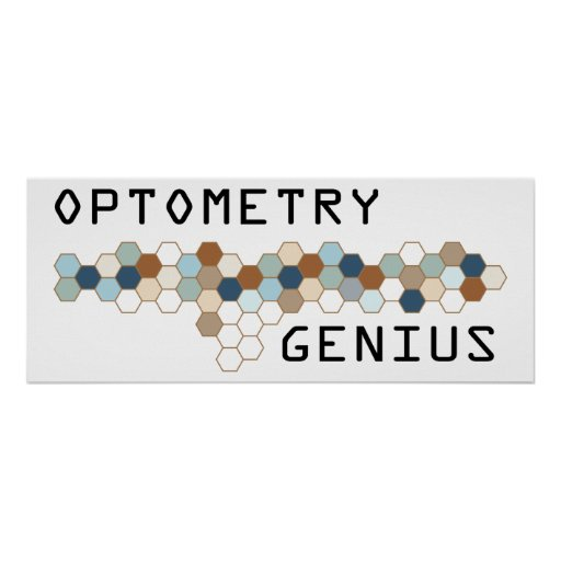 Genio de la optometría posters