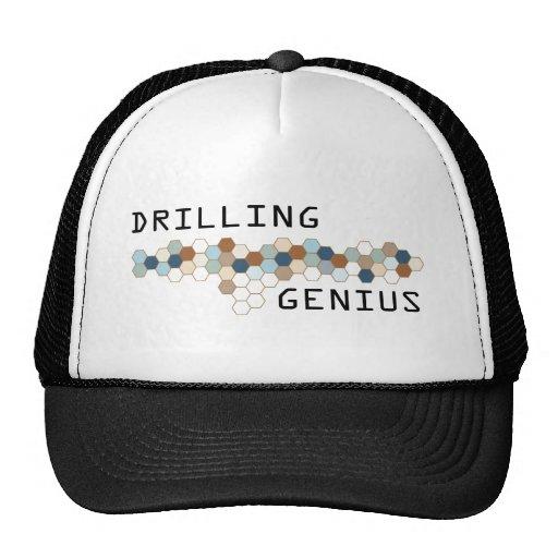 Genio de la perforación gorra